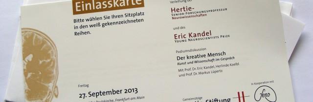 Einladung nach Frankfurt